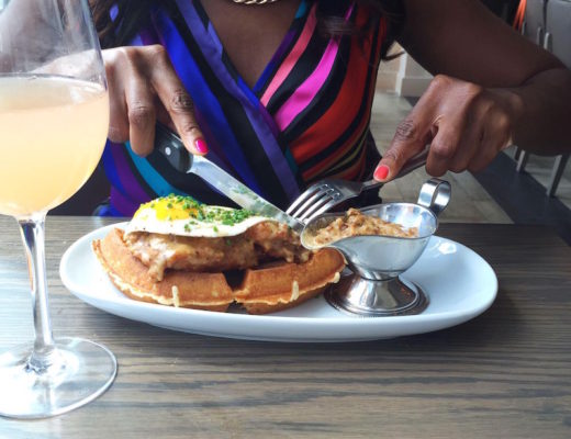 Convivial, DC Brunch, Convivial Brunch, chicken and waffle, chicken and waffles, brunch, fried chicken