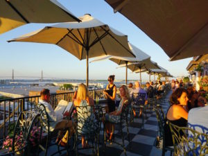Downtown Charleston, Charleston, Pavilion Bar, Charleston Rooftop Bar, Market Pavilion Hotel, Charleston Outdoor Dining, Charleston Patio, South Carolina, Things to Do in Charleston, Charleston Activities, Charleston Sites, Historic Charleston, Southern Charm, Charleston Historic District