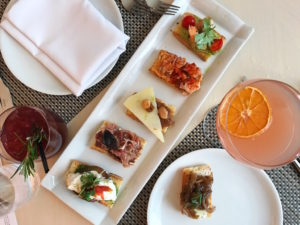 Fig & Olive, Fig & Olive Brunch, DC Brunch, Best DC Brunches, CityCenterDC, City Center DC, Crostinis