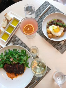 Rossellini, Fig & Olive, Fig & Olive Brunch, DC Brunch, Best DC Brunches, CityCenterDC, City Center DC, Steak and Egg